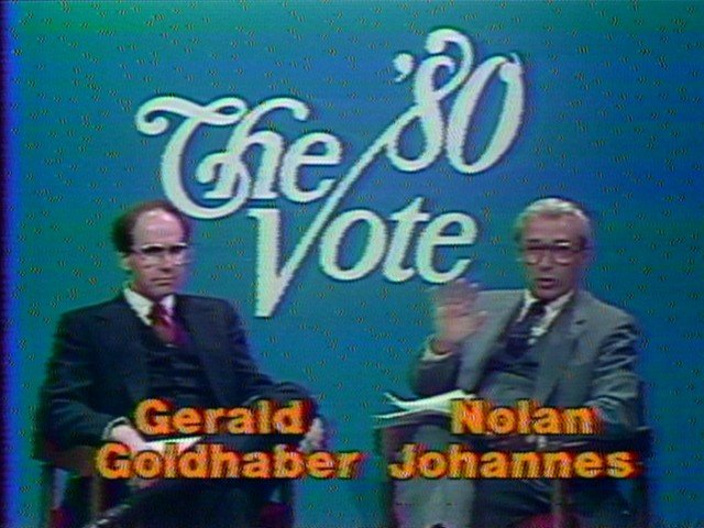Nolan Johannes  The '80 Vote..