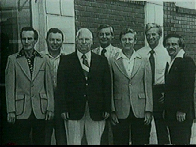 Channel 7's original staffers: Bob Costello ,Marty Stetter ,Bill Heller ,Rick Azar ,Norm Schultz ,Jack Cook and  Steve Zappia