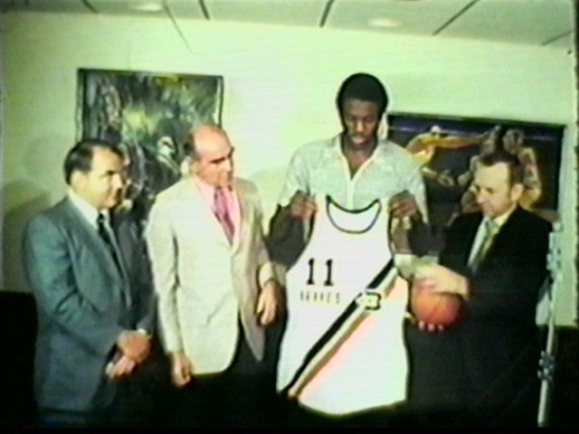 Bob McAdoo signs with the Buffalo Braves
