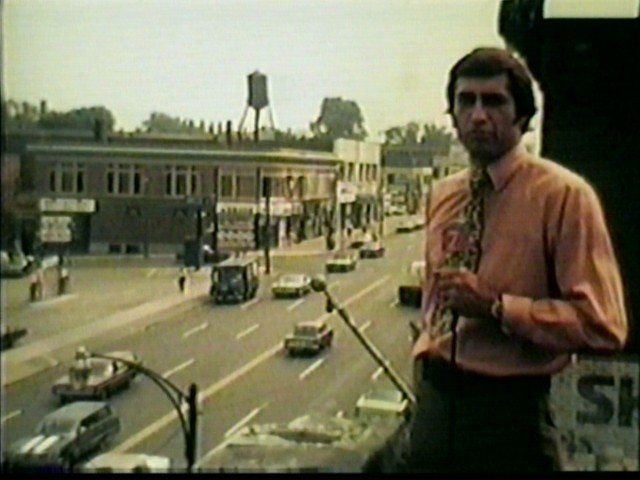 Bill Wasinger at Main & Winspear, reporting on UB riots