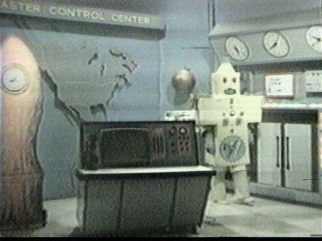 Rocketship 7 Control Center with Promo the Robot
