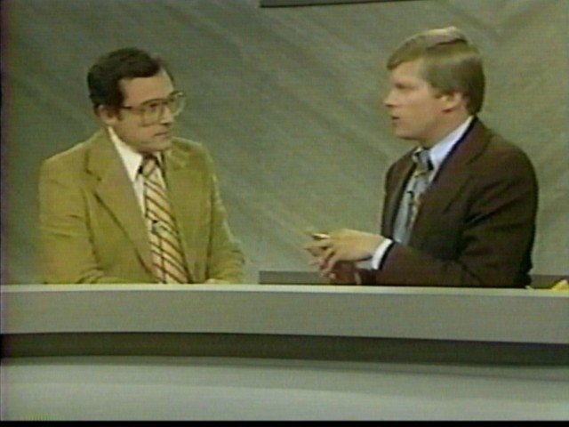 Irv and Don Postles, co-anchors