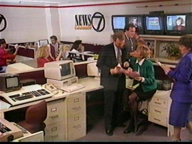 the 7 newsroom, 1993
