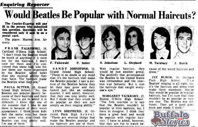 Buffalo Courier-Express, Buffalo Stories archives