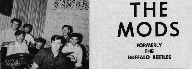 The Mods from Buffalo Teen News magazine. Buffalo Stories archives.