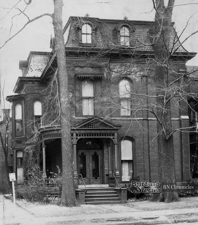 Mark Twain's Delaware Avenue home, as shown in 1947.