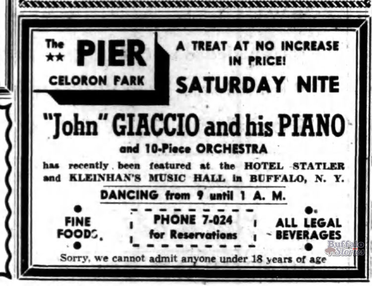An ad from The Jamestown Post-Journal, 1947.