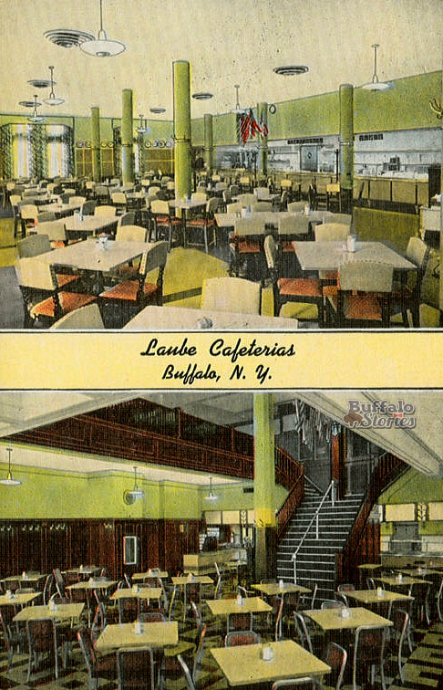 Laubes Cafeteria Buffalo Stories archives
