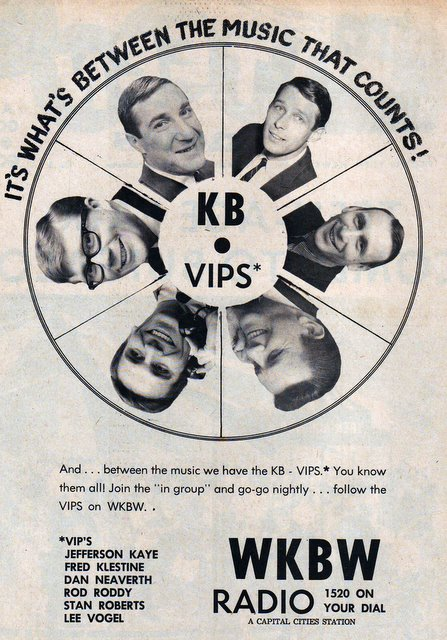 Rod Roddy, Stan Roberts, Jeff Kaye, Lee Vogel, Fred Klestine, and Dan Neaverth-- You KB VIPs.