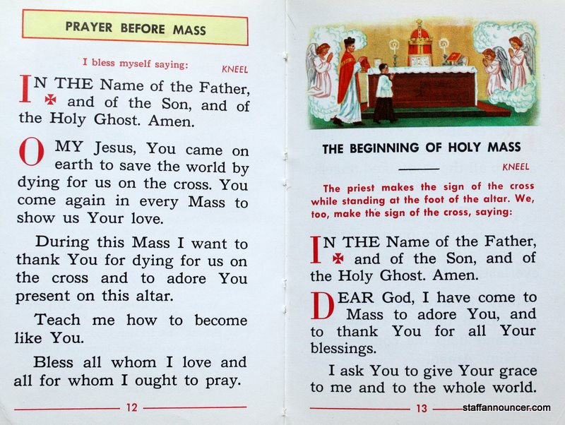 The old latin mass following along in church pre vatican ii reformatted updated pages from staffannouncer finding a new home at buffalostories thecheapjerseys Gallery