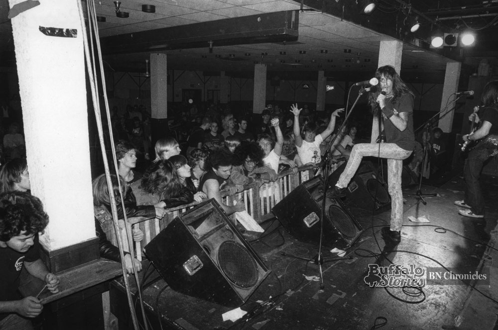 Baphomet plays the Skyroom, 1989