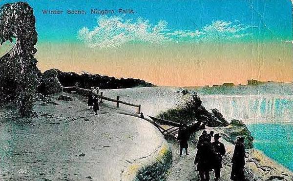 NiagaraFallsWinterScene