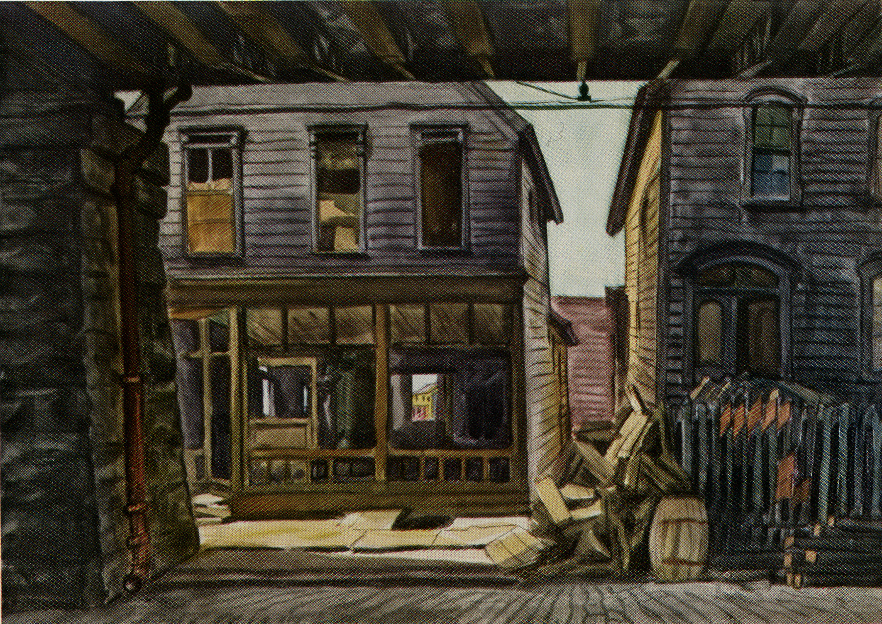 two-houses-under-a-viaduct-1926-1933-burchfield