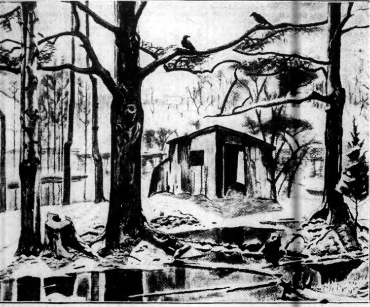 The Shed in the Swamp, as published in 1935. (Buffalo Stories archives)