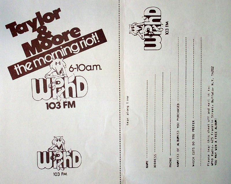 WPHD 1979