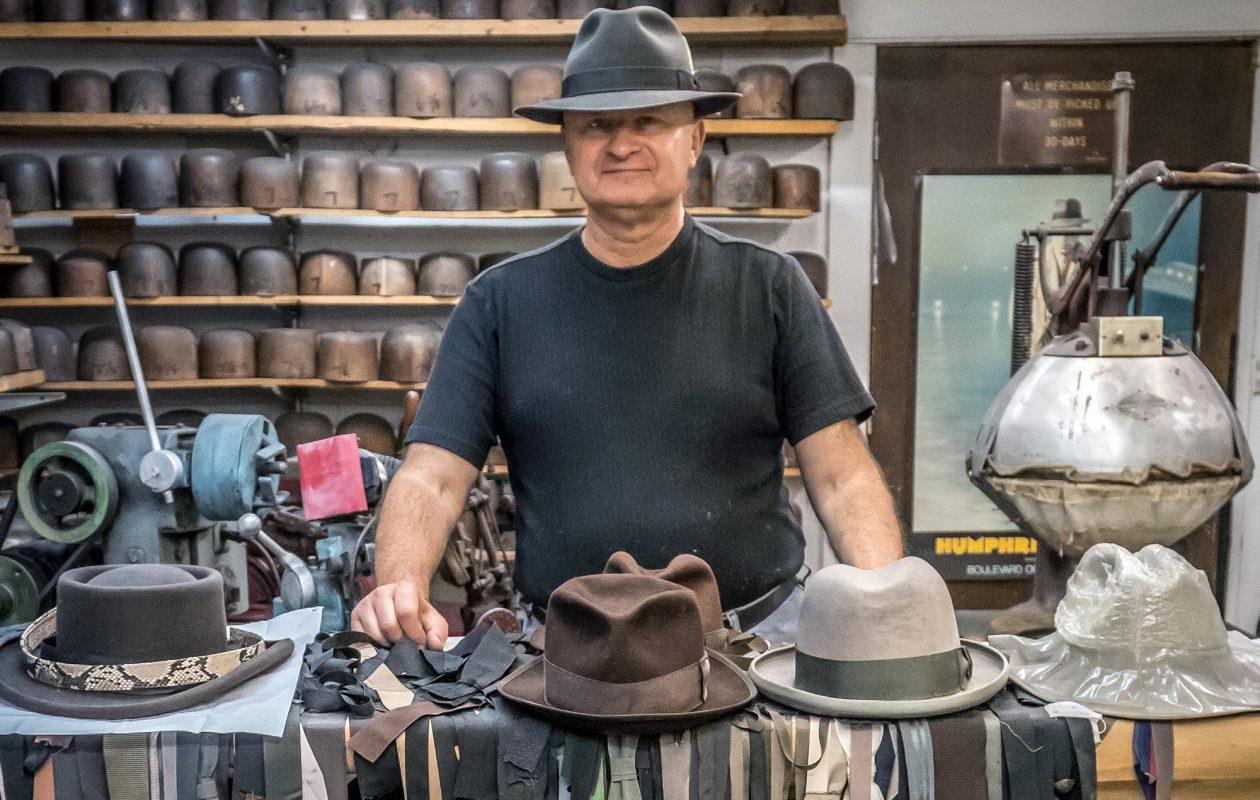 Gary White—The Custom Hatter – Buffalo Stories Archives   Blog f917fd08eca9