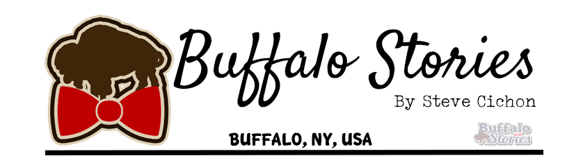 Buffalo in the '50s: Neon signs along the Peace Bridge